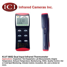 K/J/T Thermometer - Dual Input Handheld Thermometer - RS232 8852 *NEW*