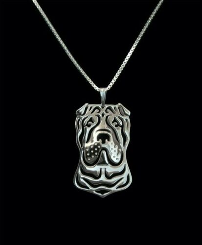Cavalier King Charles Spaniel Pendant Necklace Gift with 18 inch Chain Silver