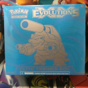 POKEMON-EVOLUTIONS-MEGA-BLASTOISE-ELITE-TRAINER-BOX-SEALED-BRAND-NEW-Free-shippi