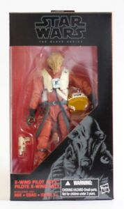 STAR-WARS-The-Force-Awakens-Black-Series-6-X-Wing-Pilot-Asty-VHTF-IN-HAND