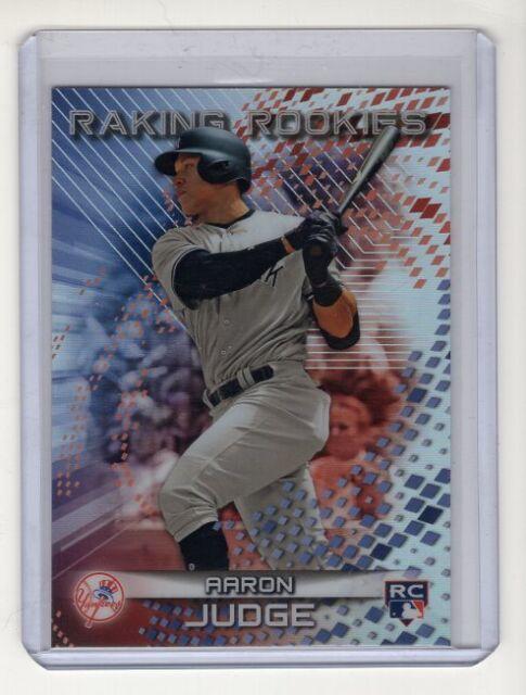 Aaron Judge 2017 Bowman's Best Raking Rookies Card #RR-AJ SP (New York Yankees)