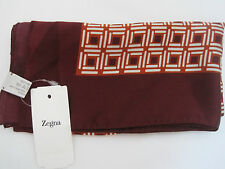 $100 ERMENEGILDO ZEGNA 100% SILK POCKET STICKS  HANDKERCHIEF MADE IN ITALY NWT