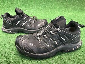 Salomon XA3D Ultra 2 Mens Size 8 Trail Hiking Running Walking Shoes BLACK