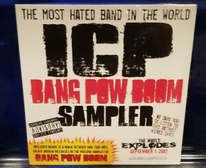 Insane-Clown-Posse-Bang-Pow-Boom-Sampler-CD-SEALED-icp-twiztid-esham-juggalo