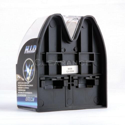 Xenon White Halogen Bulbs Headlight 9006 HB4 12V 55W 100W 6000k  Replacement 2//4