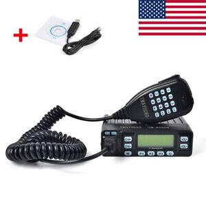 25W-Dual-Band-70-CM-2-Meter-MINI-Portable-Ham-Amateur-Car-Mobile-Transceiver