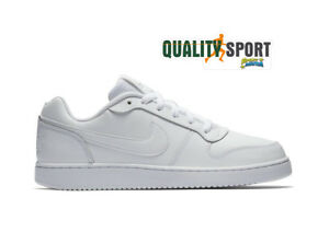 buy online 3097e 50a27 Image is loading Nike-ebernon-Low-White-Sports-shoes-Shoes-Men-