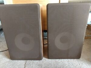 Details About Pair Of Bookshelf Speakers By Custom Audio Electronics Cody Wy 802 Oem