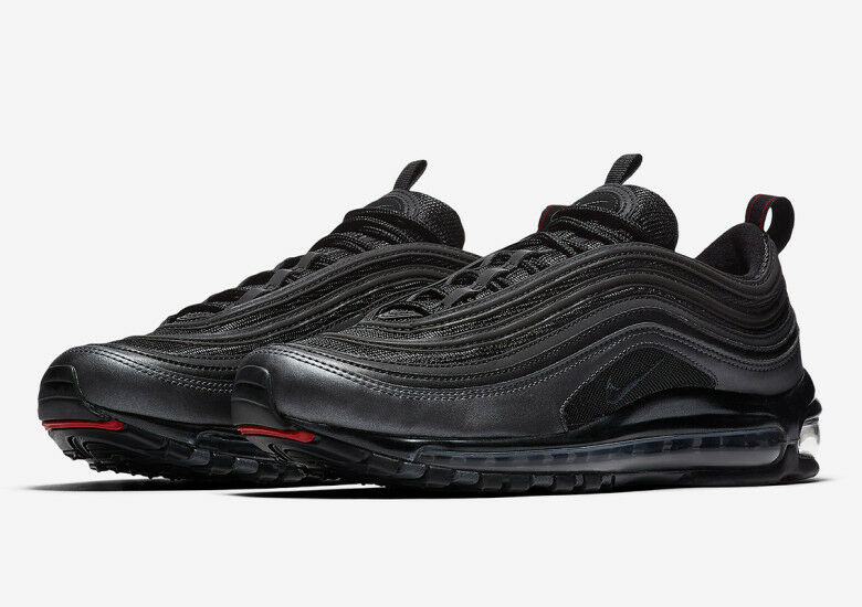 Nike Air Max 97 Hematite size 12. Black Anthracite Dark Grey. 921826-005.