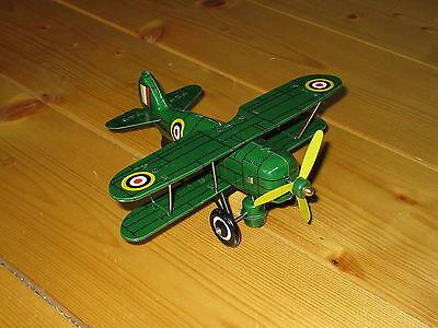 Sonderabschnitt Curtiss, Amerikanischer Jagdbomber, Doppeldecker, Blech