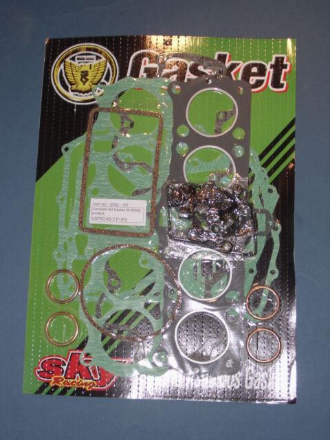 Honda CB 750 four k0-k7 f1 f2 super sport motor agujas Engine GASKET SET