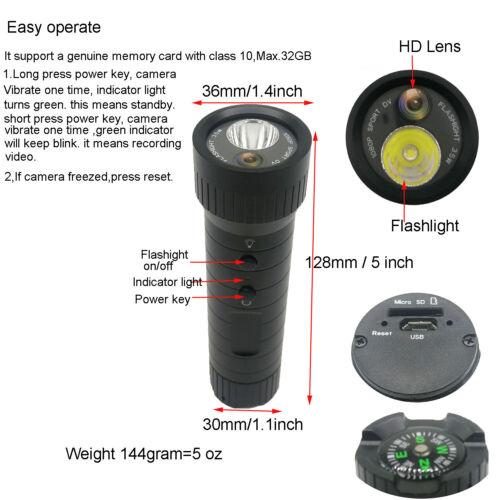 HD Sport Camera Gun Video Shotgun Hunting Camera 1080P Mini Helmet DV+CLIP MOUNT