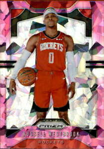 2019-20-Prizm-Pink-Ice-182-Russell-Westbrook-Houston-Rockets