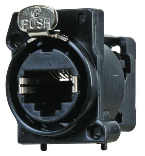 A-Series Neutrik NE8FAV-C5 Vertical PCB mount RJ45 receptacle