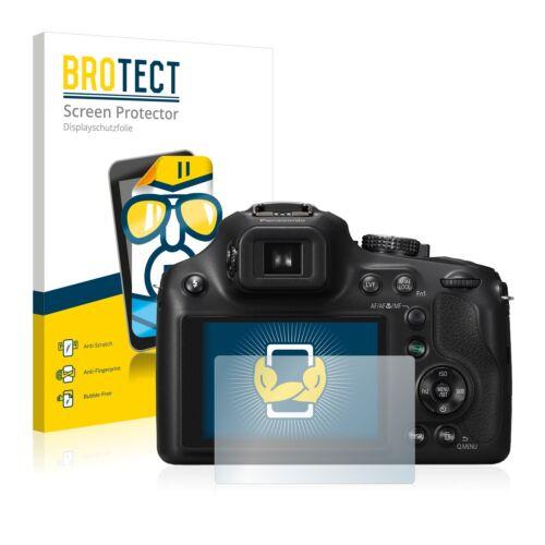 2x brotect protector de pantalla claro Panasonic Lumix dmc-fz72 lámina protectora