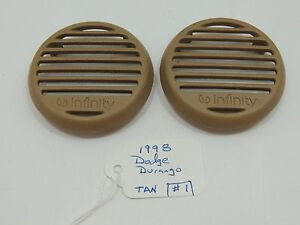 Image Is Loading 1998 Dodge Durango Tan Infinity Front Door Speaker