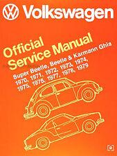 Bentley Vw Beetle Karghia Service Manual 70 79 Vw8000179 For Sale Online Ebay