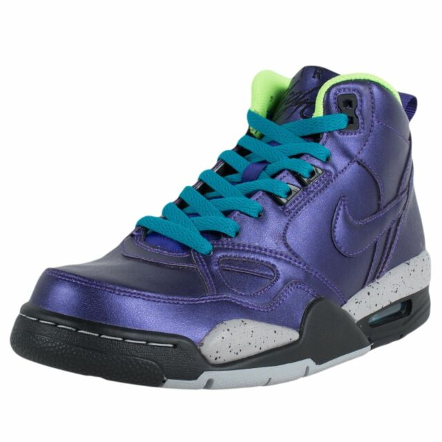 official photos 3ed16 9437b NIKE WOMENS FLIGHT 13 MID BASKETBALL SHOES ELECTRO PURPLE 616298 500