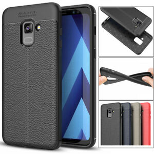 lowest price 9f8f3 ba1d9 Details about Shockproof Rubber Bumper Case Cover For Samsung Galaxy A3 A5  A7 2017 A6 A8 2018