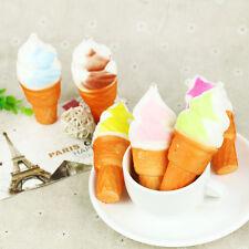 Slow Rising 10cm Ice Cream Jumbo Squishy Cake Cellphone Straps Bread Gift Toy