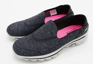 donna Walk Charcoal Skechers da 6 Scarpe 5 slittino Scarpe Heather New J5596 M da S6ftxwq