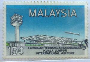 Malaysia Used Stamp - 1965 International Airport