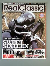 R&L Mag: Real Classic June 2012 AJS 16/Motosacoche/BMW R65/Indian Chief