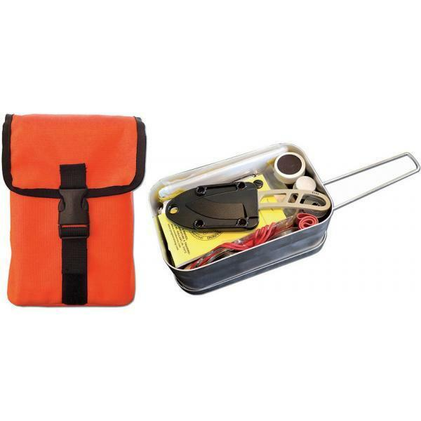 ESEE Large  Tin-kit-or Survival Kit esltinkitor Survival Kit in Mess Kit  credit guarantee