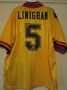 "Arsenal 1993-1994 Away Linighan Football Shirt Size Adult 44""-46"" /40058"
