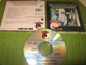 CD-ERIC-CLAPTON-039-S-CREAM-THE-EASY-RIDER-YEARS-LIVE-BRUCE-BAKER