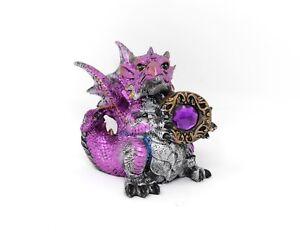 Amethyst Dragon Nemesis Now Statua Fantasy Alta qualità Drago Ametista U1255D5