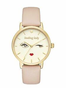 Kate-Spade-Metro-Leading-Lady-Ss-Vachetta-Leather-Watch-GOLD