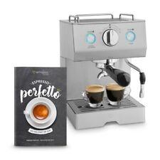 Espressomaschine Edelstahl Kaffeemaschine Siebträgermaschine Milchaufschäumer ☕
