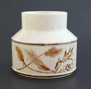 Midwinter-Wild-Oats-Stonehenge-Sugar-Bowl-No-Lid-Brown-Oat-Vintage-1970s-1980s