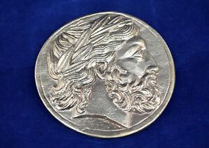 Paperweight Philip II of Macedon Desk Press Papier Bronze polished artifact