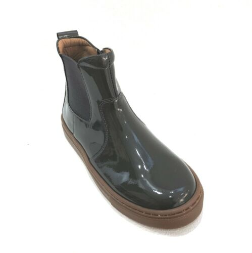 Petasil Candy Girls/' Chelsea Ankle Boots Grey Patent 40/% OFF RRP