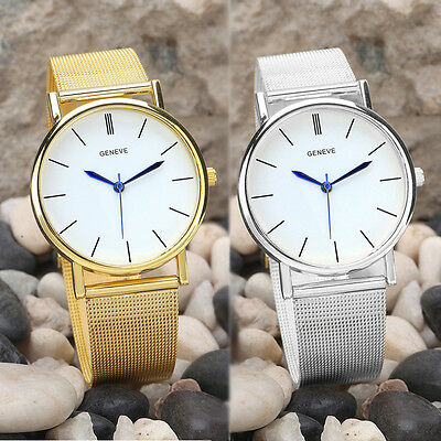 Chic Gift Women's Fashion Stainless Steel Band Watch Luxury Quartz Wrist Watches