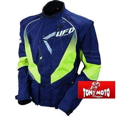 L grigio//nero UFO giacca enduro motocross Sierra mis
