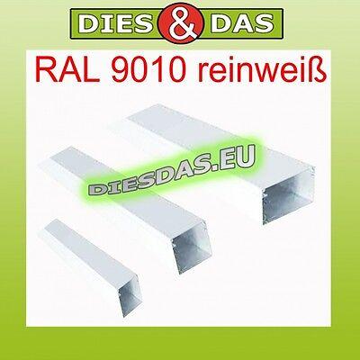 2m Kleinhuis Kabelkanal rws 25x40 RAL9010 HKL2540.3 40x25 Instalationskanal