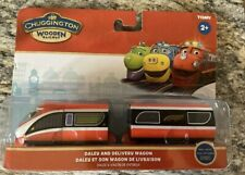 Chuggington Wooden Railway Fletch with Welder Wagon LC56076