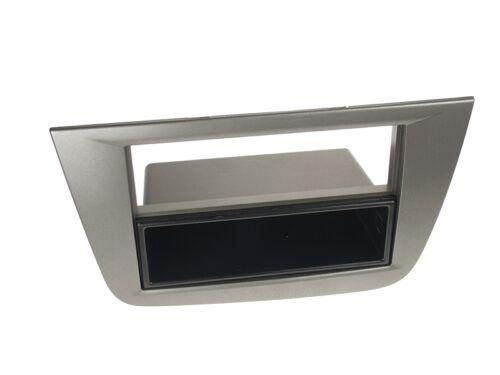 cable Seat Toledo 5p 04-09 1-din radio del coche Kit de integracion radio diafragma antracita