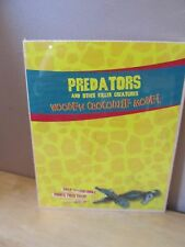 Predators Wooden Crocodile Model Kit~Snap Together~Brand New/Sealed