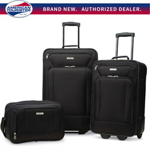 American-Tourister-Fieldbrook-XLT-3-Piece-Luggage-Set-21-034-amp-25-034-Choose-Color