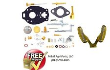 COMPLETE CARBURETOR KIT & FLOAT FORD NAA JUBILEE 600 620 630 640 700 740 CARB