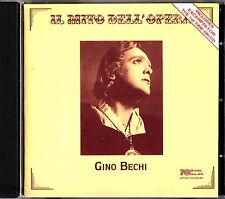 Il mito dell'opera: Gino Bechi (Recorded 1948-1959) 1st Issue on CD Ernani/Faust