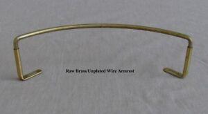 Details about Wire Banjo Armrest, Unplated Brass