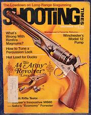 Vintage Magazine SHOOTING TIMES December 1972 !WINCHESTER Model 12 PUMP SHOTGUN!