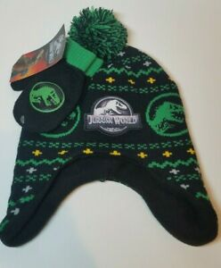 JURASSIC WORLD PARK  Beanie Hat one size fits most children and small adults