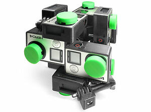 Stereoscopic-3D-360-Spherical-Panorama-Mount-f-12x-GoPro-HERO-3-4-VR-Wide