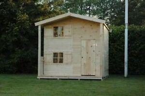 spielanlage kinderhaus gartenhaus spielger t villa. Black Bedroom Furniture Sets. Home Design Ideas
